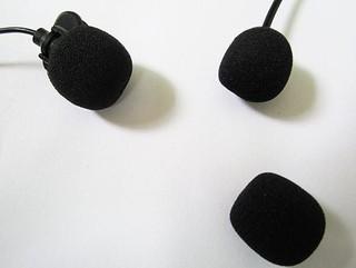M35麥克風海綿套 擴音器抗菌防塵套 有線無線麥克風套 導游麥克風套 教學小蜜蜂均適用