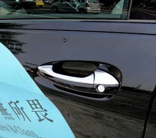 ~圓夢工廠~ Benz B-class W246 B180 B200 B250 2015年 鍍鉻車門把手蓋