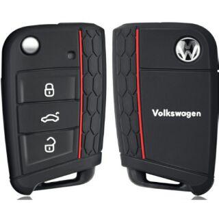 VW 福斯車系 Golf7 Golf MK7 GTI Tiguan Touran 鑰匙套 矽膠套