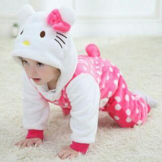 新款女寶寶爬服嬰幼兒連體造型衣服