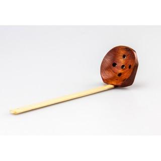 日式龜背湯勺 拉麵勺實木湯勺長柄火鍋勺原木餐具