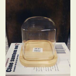 永生花玻璃罩(方形)2種尺寸【大】【小】