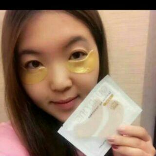 黃金眼膜 20入消除眼膜(不老歲月黃金眼膜) 眼袋剋星 面膜 保養品 彩妝 一件20入裝(熊大店舖 )