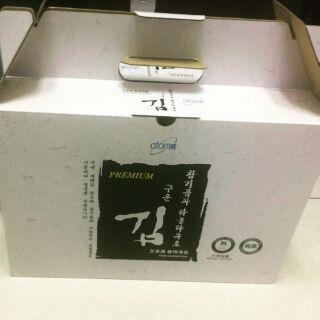 韓國 艾多美 天然鹽烤海苔1箱4盒 1盒24包入