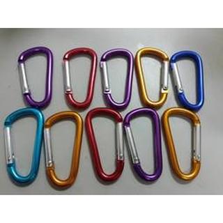 6號登山扣 D型扣環 掛鉤 鋁製 登山扣環 強光手電筒套吊環