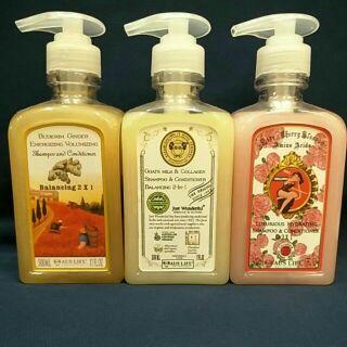 澳思萊 黃金薑豐盈雙效/羊初乳膠原彈力雙效玫瑰櫻氨基酸保濕雙效洗髮乳