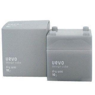 DEMI UEVO 提美 卵殼膜彩色造型積木 灰積木髮蠟 80g(乾髮蠟 dry wax)