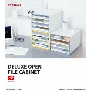 SYSMAX DELUXE開放式 4層 桌上型效率櫃(文件置物架/資料櫃)
