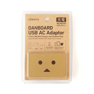 (現貨)日本代購Cheero阿愣USB AC 雙輸出旅充充電器