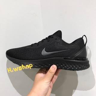 (H.w代購)Nike Odyssey React 黑 全黑 慢跑鞋 軟底 襪套式 男 AO9819