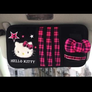 車用kitty 遮陽板 手煞排擋桿