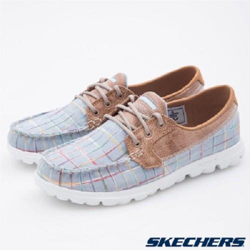 【零碼US5】SKECHERS (女) 健走系列 On The Go 健走 休閒鞋 - 13839BLU