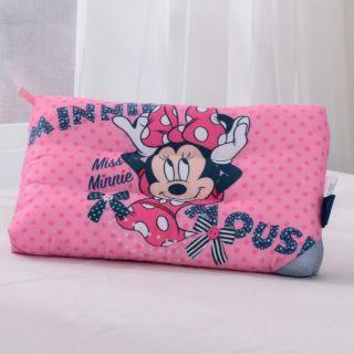 正版授權 迪士尼天絲水洗枕 兒童枕頭 天絲枕頭 水洗枕 米妮 大眼怪 冰雪奇緣 維尼