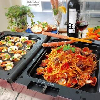 【東京直送】 IRIS OHYAMA DPO-13雙面折電烤盤 附3烤盤