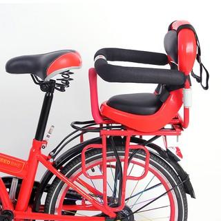 自行車兒童座椅后置  寶寶座椅安全電動車自行車后座椅兒童椅