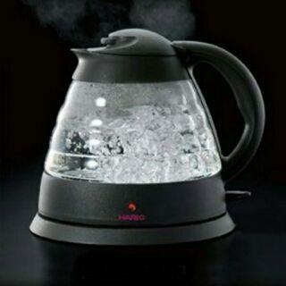 【蝦皮最低價】全新日本Hario玻璃快煮電水壺 EPK-12WV-DG
