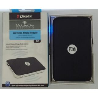 〔自用二手〕MLWG2 kingston金士頓 MobileLite Wireless G2 無線卡碟分享機