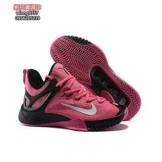 新款新配色 正版耐吉Nike Zoom Hyperrev 2015 EP 保羅喬治 全新戰靴 男款籃球桃紅白