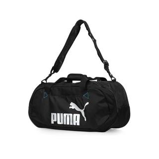 [ROSE] PUMA 旅行袋 經典 大容量 熱門 LOGO 黑色 07447101