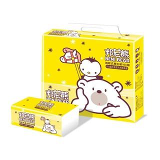邦尼熊 抽取式衛生紙100抽  60包/箱