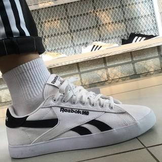韓國代購 REEBOK NPC UK FVS 帆布休閒鞋
