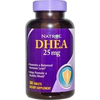 Natrol脫氫表雄酮DHEA 25mg 300粒