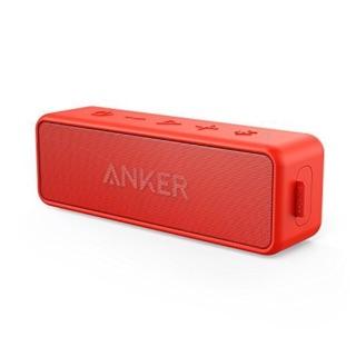 Anker SoundCore 2 藍芽喇叭  紅色
