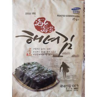 韓國大片海苔