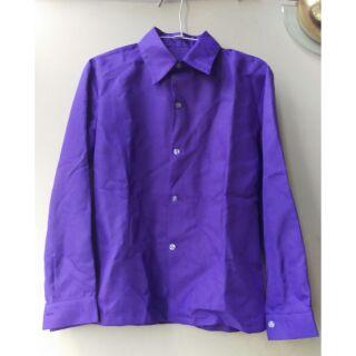 全新 現貨 紫色長袖襯衫 一松 西裝松 阿松 制服呢 COSPLAY COS