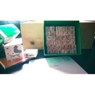 字母數字印章組