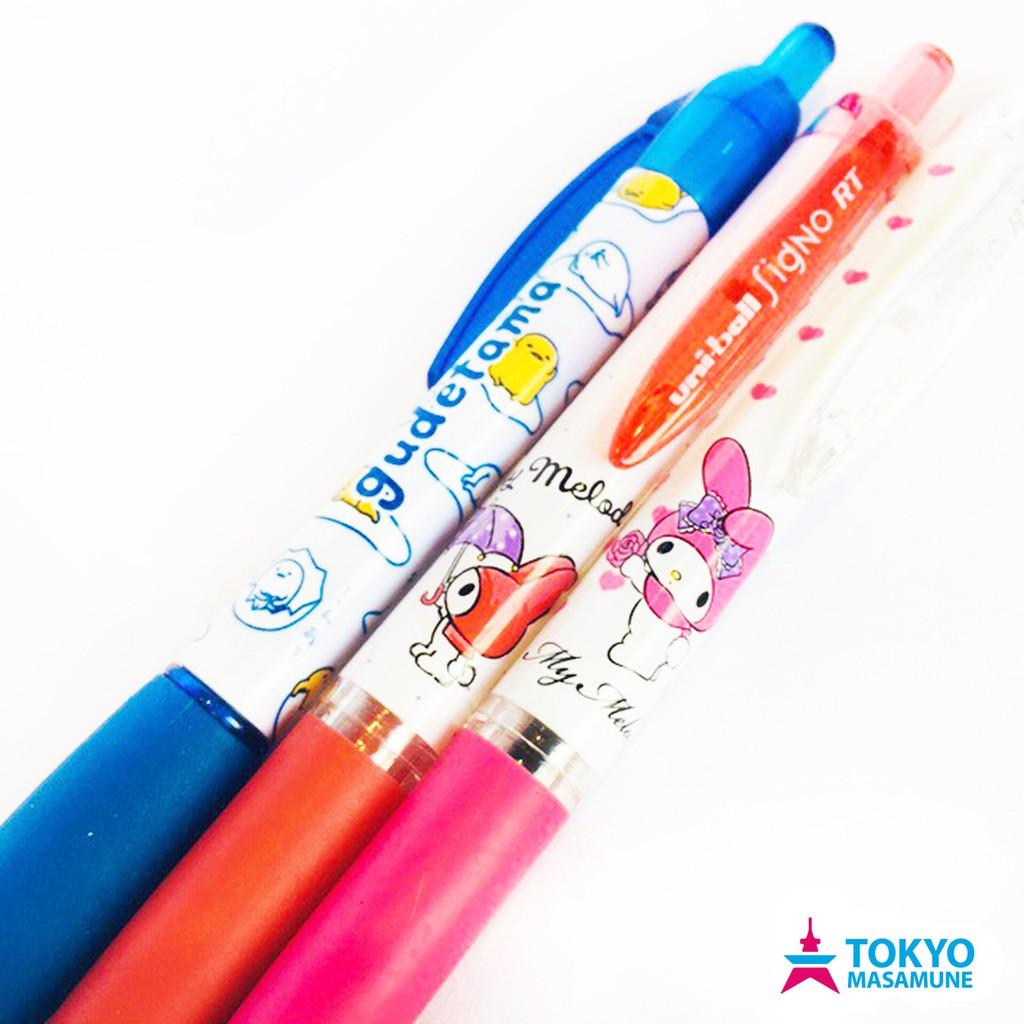 三菱 uni-ball 三麗鷗 聯名 系列 0.38 鋼珠 原子筆 共10款 黑/紅/藍