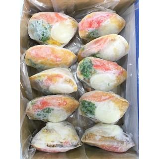 【逸嵐冷凍食品】-南瓜蟹味干貝焗海鮮/10入/焗烤海鮮/干貝/馬蹄貝焗海鮮/馬蹄貝/焗海鮮/蟹肉/焗烤/南瓜/蒸類/年菜