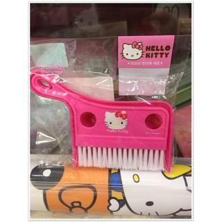♥小花花日本精品♥ Hello Kitty 迷你掃把組 電腦桌清潔 迷你掃把 桃色大臉 56982602