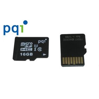 ❴終身 ❵PQI 裸卡micro SD SDHC C10 16G 記憶卡相機手機行車紀錄
