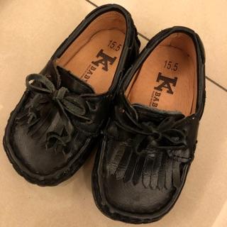CM15.5號真皮童鞋
