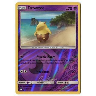 英文版 Pokemon TCG 神奇寶貝 遊戲卡 閃卡 Drowzee 催眠貘 59/149