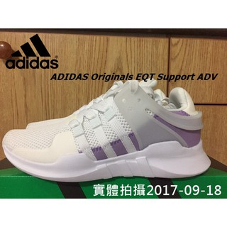 【西門町】 ADIDAS Originals EQT Support ADV 女鞋 白紫 BY9111