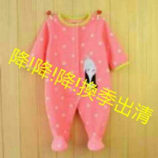 《現貨》女寶寶嬰兒童裝美單包腳連身衣寶寶連身衣嬰兒連身衣
