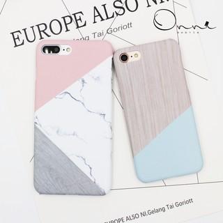 iPhone 7 iPhone 6 Plus 保護殼 手機殼 木紋 拼接大理石系列 現貨