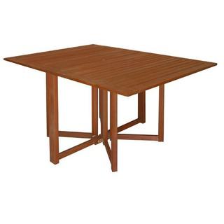 【EB667-127】 戶外摺疊桌(硬木實木)