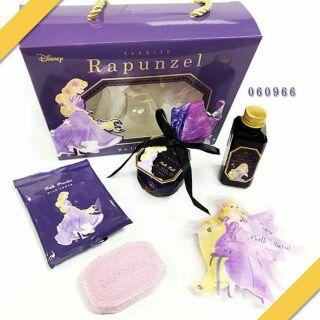 日本 迪士尼公主系列沐浴禮盒5件組