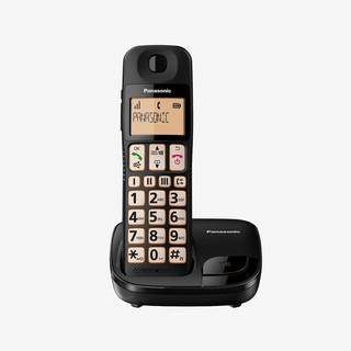 ✿國際電通✿【免運/保固2年/大字鍵】Panasonic 國際牌 公司貨 KX-TGE110TWB DECT數位無線電話
