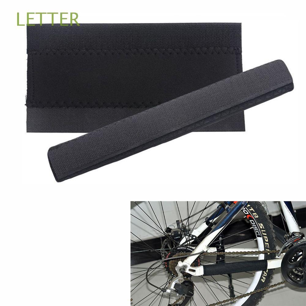 ⏳【LETTER】🚲1S自行車自行車鏈條保護器自行車鏈條護理布自行車鏈蓋🔧