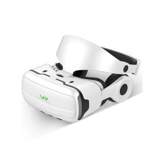 -vr眼鏡一體機4d虛擬現實3d體感游戲機電影rv眼睛oppo家用ⅴr吃雞游戲手柄vivo華為智能手機專用ar電腦頭盔的
