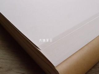 韓非子小舖 ~ 書畫練習必備手工宣紙-全開-玉竹宣