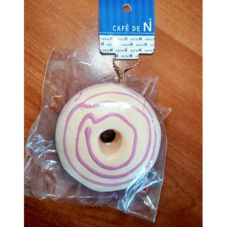 「海外Squishy」Cafe De N草莓煉乳甜甜圈
