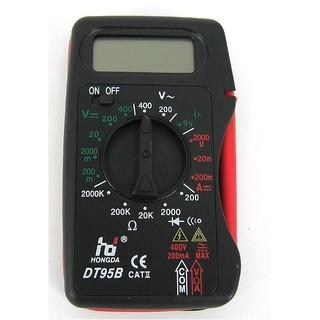 攜帶式 電子式 三用電表 萬用電錶 直流 交流 電壓表 電流 電阻