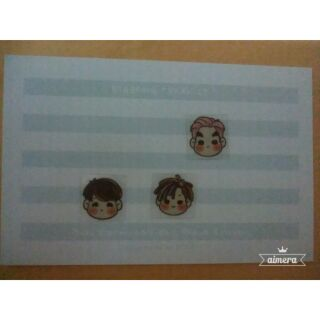 泰國小畫手2PIIM BIGBANG防磁波貼紙