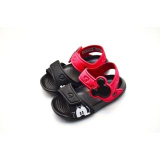 【Z.U SHOES】ADIDAS愛迪達 DISNEY迪士尼聯名款 米奇海灘防水涼鞋 黑紅