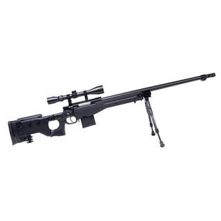 <台南 武星級> WELL 4403 AW338 狙擊槍 手拉 空氣槍 (BB槍模型槍步槍卡賓槍獵槍來福槍馬槍瞄準鏡腳架
